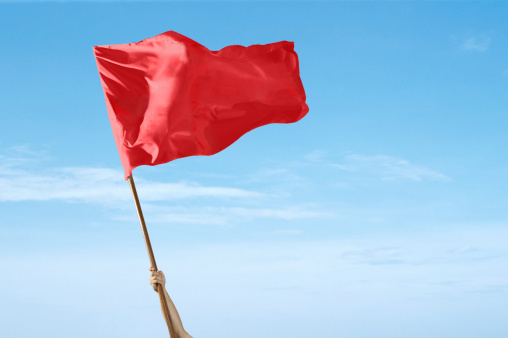 red flag image